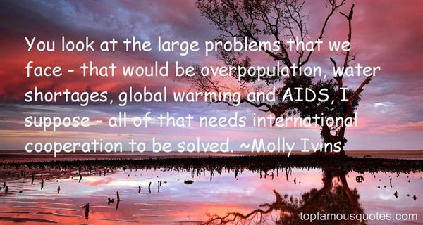 Quotes About Overpopulation