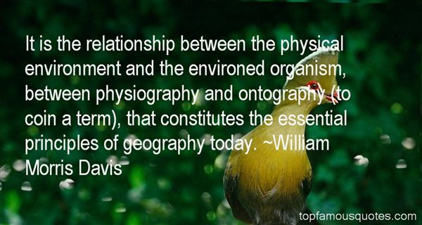 Quotes About Physiography