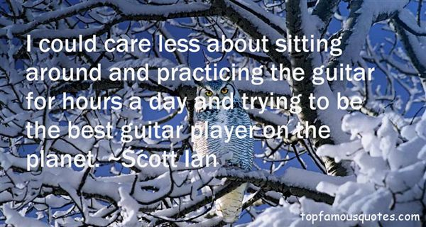 Quotes About Practicing Guitar