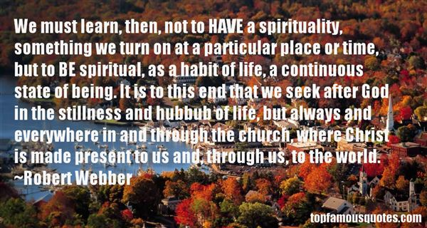 Quotes About Spiritual Stillness