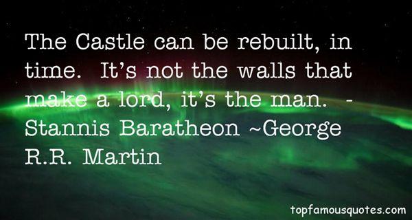Quotes About Stannis Baratheon