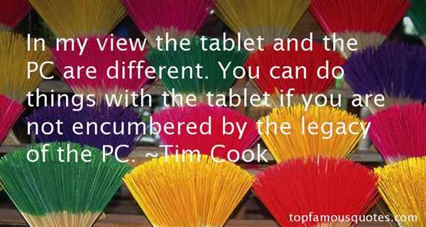 Quotes About Tablet Pc