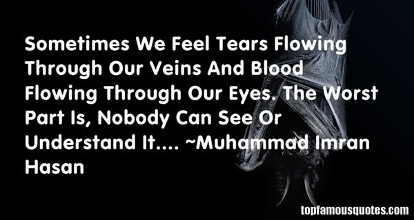 Quotes About Tears Flowing
