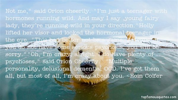 Quotes About Teenage Hormones