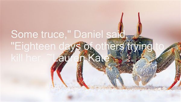 Quotes About Truce