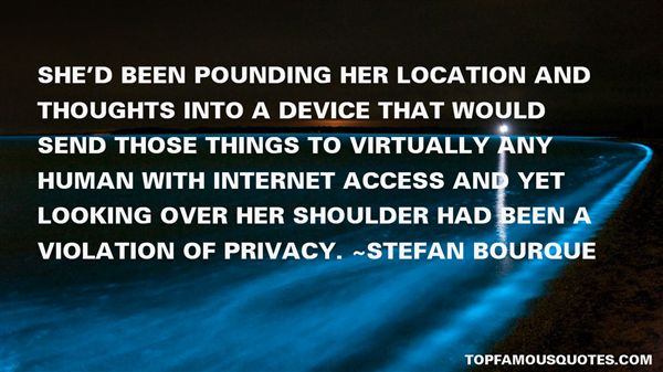 Quotes About Violation Of Privacy