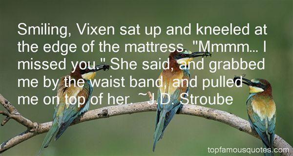 Quotes About Vixen