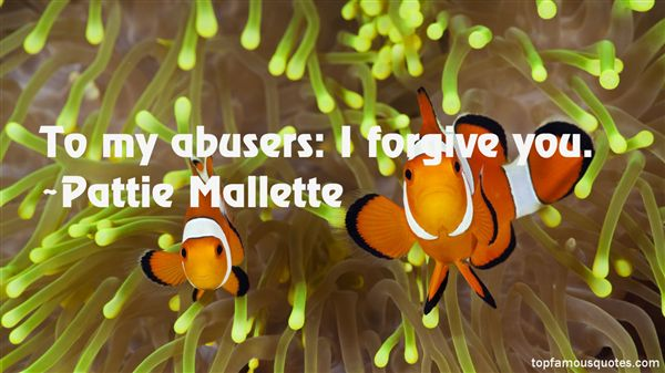 Quotes About Abusers