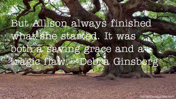 Quotes About Allison