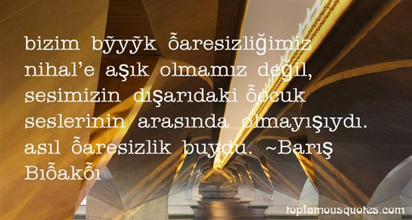 Quotes About Aresizlik