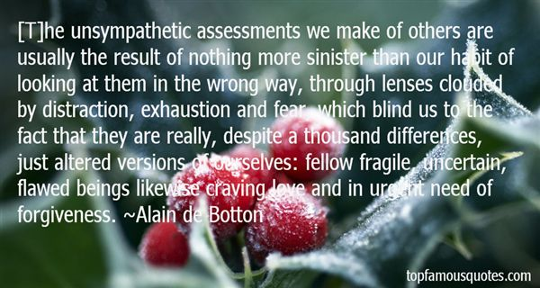 Quotes About Assessment