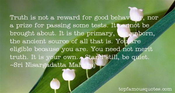 Quotes About Behaviour