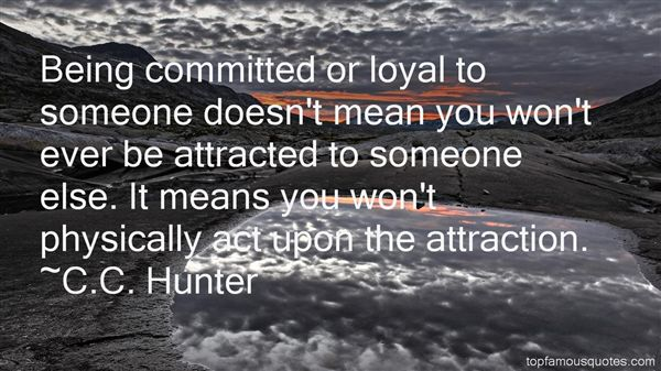 Quotes About Being Committed To Someone