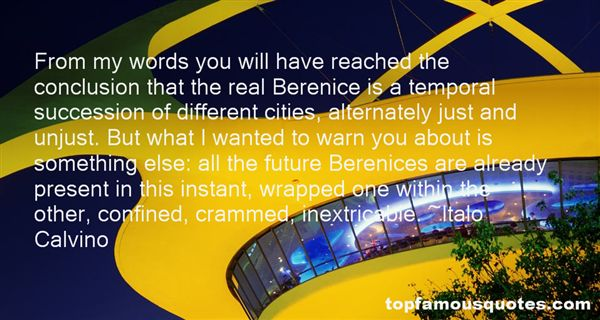 Quotes About Berenice