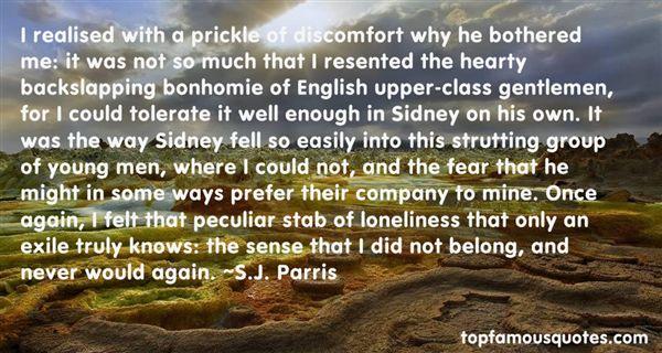 Quotes About Bonhomie