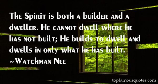 Quotes About Builder
