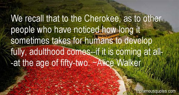 Quotes About Cherokee