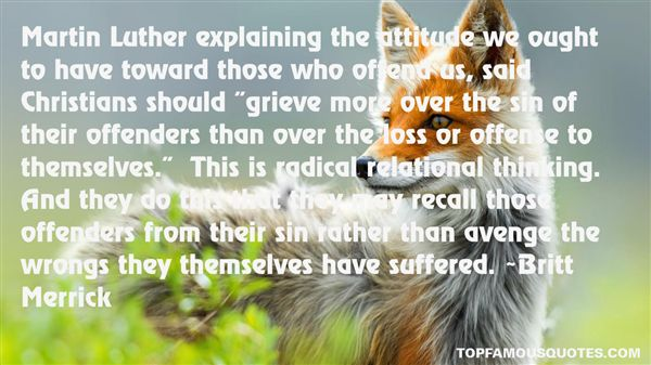 Quotes About Christian Offense
