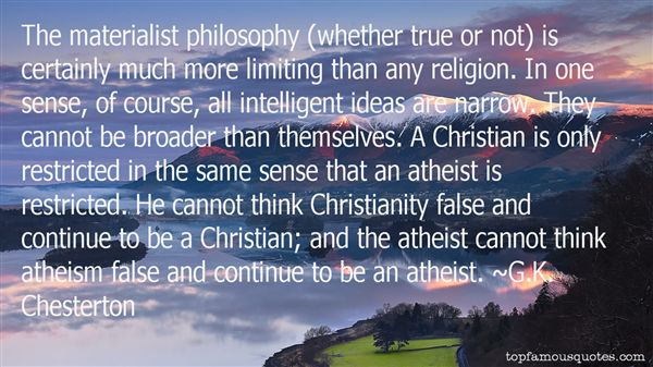Quotes About Christianity And Atheism