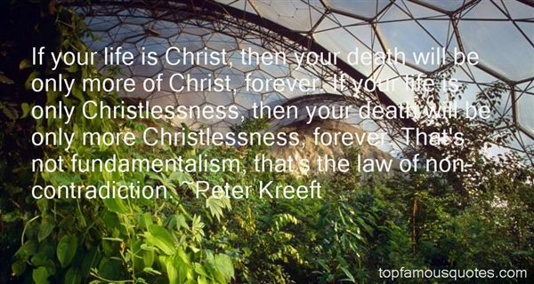 Quotes About Christlessness