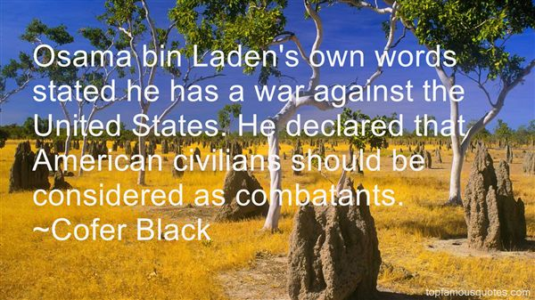 Quotes About Combatants