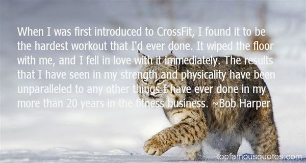 Quotes About Crossfit