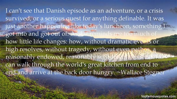 Quotes About Danish Change