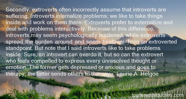 Quotes About Extroverts And Introverts