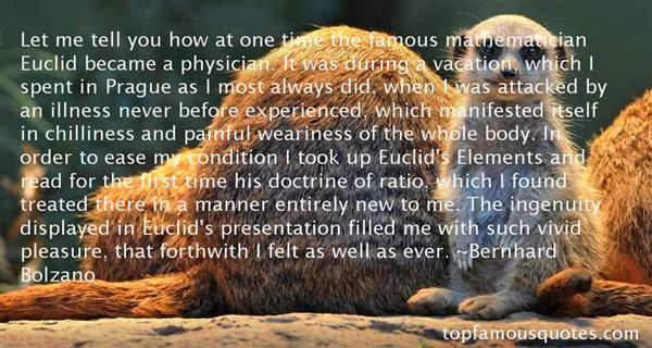 Quotes About Famous Euclid