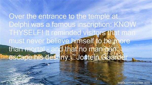 Quotes About Famous Visitors
