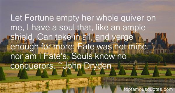 Quotes About Fortune And Fate