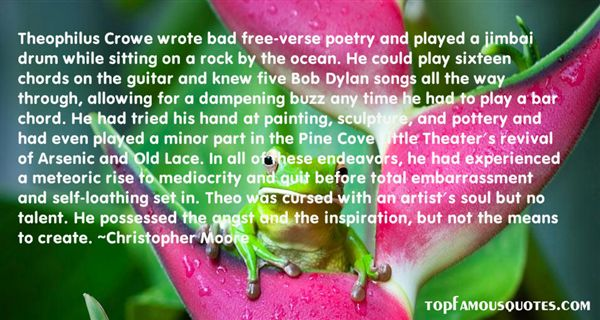 Quotes About Free Verse Poetry