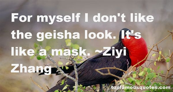Quotes About Geisha