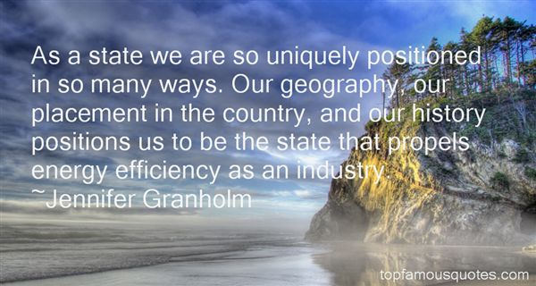 Quotes About Geography And History