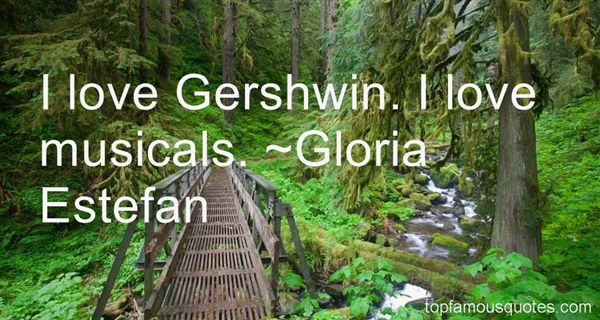 Quotes About Gershwin