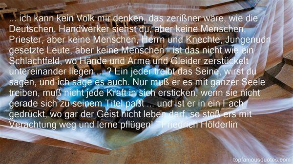 Quotes About Handwerk