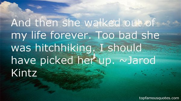 Quotes About Hitchhiking