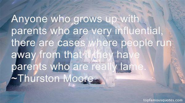 Quotes About Influential Parents
