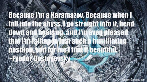 Quotes About Karamazov