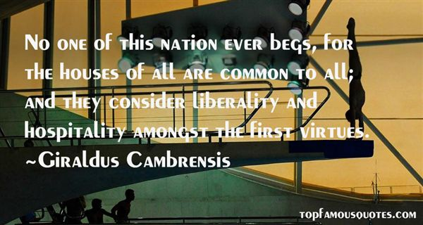 Quotes About Liberality