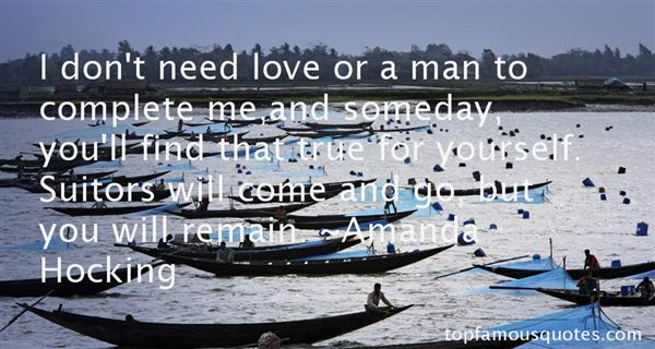 Quotes About Love Suitors