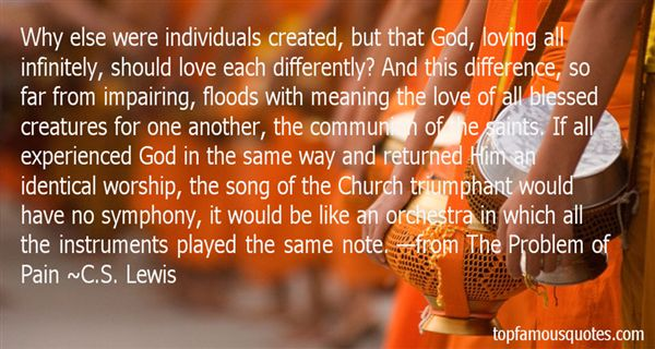 Quotes About Loving Differently