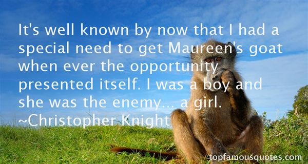 Quotes About Maureen