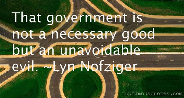 Quotes About Necessary Evil