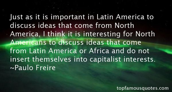 Quotes About North America