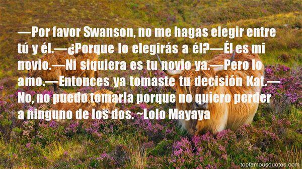 Quotes About Novio