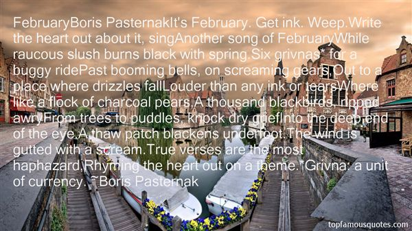 Quotes About Pasternak