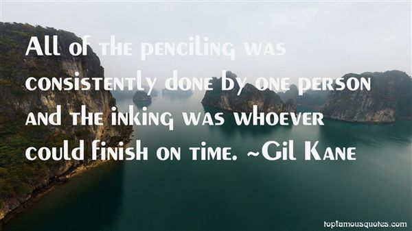 Quotes About Penciling