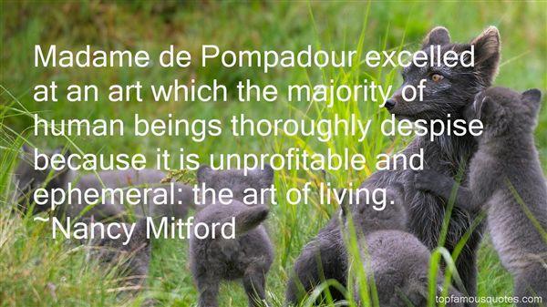 Quotes About Pompadour