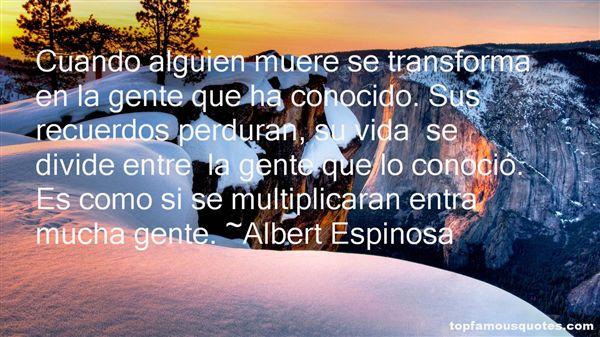 Quotes About Recuerdo